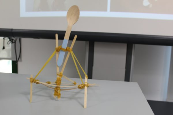 "Artifact from the ""catapult challenge""."